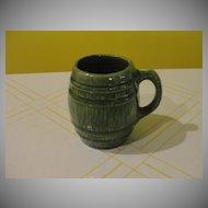 McCoy Green Barrel Mug - b24