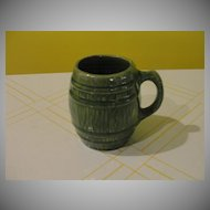 McCoy Green Barrel Mug - b24