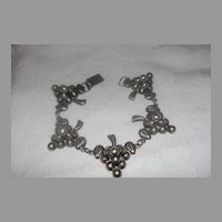 Bunches of Grapes Made in Mexico Bracelet - Free Shipping