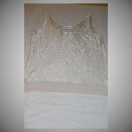 White Lightening Young Sook Hahn Glass Bead Tank - b28