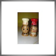 He's Salty, She's Pepper Wooden Shakers - b28