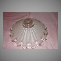 Palest Pink Frosted Glass Ceiling Light Shade