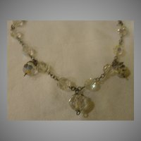 Now for something a Little Different Aurora Borealis Necklace - Free Shipping