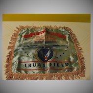''To My Mother'' Truax Field Madison. Wis. Pillow Case