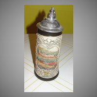 Handpainted by Armin Bay Beer Stein - b34