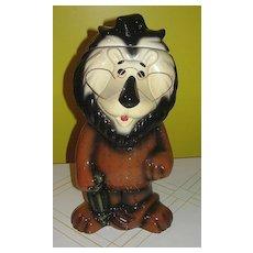 Lefton Hubert the Harris Lion Cookie Jar - Red Tag Sale Item