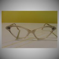 French Feline 50's Cat-eyes Glass frames