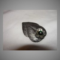 Silvery Leaves Dress Clip - Free shipping