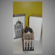 Dept 56 Christmas in the City First Metropolitan Bank #5882-3