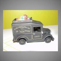 Dept 56 Christmas in Th City series Van - Black