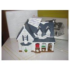 Dept 56 Snow Village American Architecture Series Gothic farmhouse #5404-6