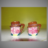 Tiny Toby Mug Salt and Pepper Shakers - b34