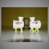 Old Time Grinder Salt and Pepper Shakers - b32