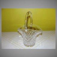 A Tisket A Clear Glass Basket - 27