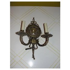 Made in Spain  Wall Sconce - b38 - Red Tag Sale Item