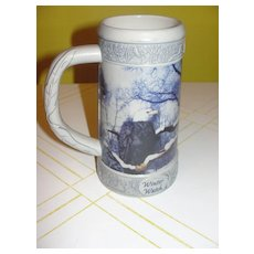 "Miller ""Holiday stein'' Winter Watch"