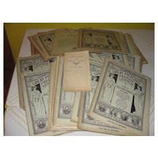 ''Great Men and famous women A series of Pen and Pencil Sketches'' with Question Book - Red Tag Sale Item