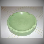 Smoke Rings Green Shawnee Ash Tray - b29