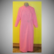 Petal pink ''Jack Roberts'' Double Knit Floor length Dress