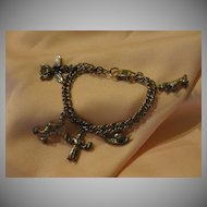 ''Star'' Eclectic Charm bracelet - Free shipping