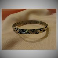 Taxco Silver Bracelet - Free shipping