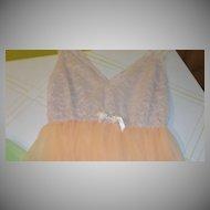 Orange Sherbert Nightgown - b45