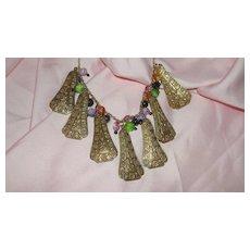 Jingle Jangle Beaded Necklace - Free shipping