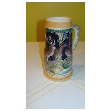 Wald, Wild Jagerie - West German Stein - b46