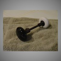 Black and White Door Knob - b48