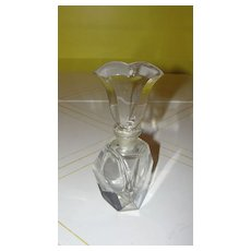 Tulip Topped Perfume Bottle - b53