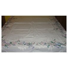 Lilies and More Floral Bouquet Tablecloth
