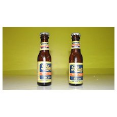 Blatz Beer Bottle Salt and Pepper Shakers