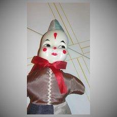 Clown Face Doll - b54