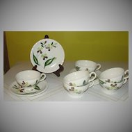 Blue Ridge Southern Potteries Co ''Spray'' #4034 Cup and Saucer