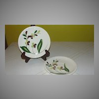Blue Ridge Southern Potteries Co ''Spray'' Saucers.
