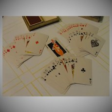 Monogrammed DBR Playing Cards - b49