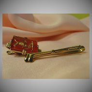 For the Most Interesting Man in the World Matador and Gold Tie Bars - Free shipping