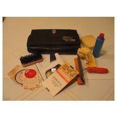 Car Care Kit in Black Vinyl Case