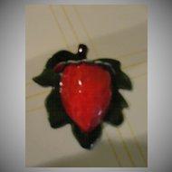 Treasure Craft Strawberry Wall Pocket