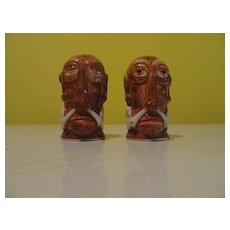 Natives Are Restless Salt and Pepper Shakers