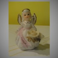 Lefton March Birthday Angel KW3332