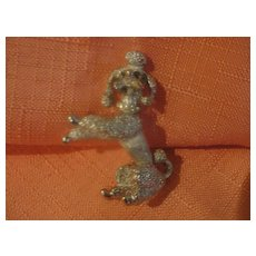 French poodle Puppy Pin - Free shipping