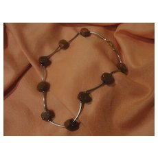 Faceted Sunstone Necklace - Free shipping