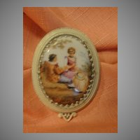 Lovely Lady and Handsome Gent Fur Clip - Free shipping