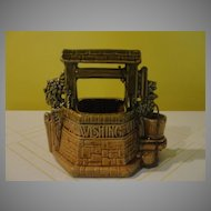 Grant a Wish Wishing Well McCoy Planter - b120