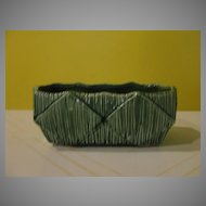 McCoy Green ''Diamond'' Planter - b122