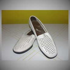Don Pedro Made in Spain White Men's loafers - b126