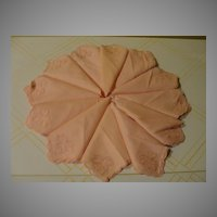 Swiss Made Powder Puff Pink Napkins - b131
