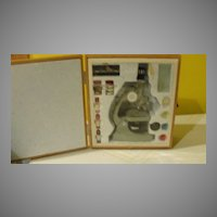Tasco Deluxe High Quality Microscope - b134