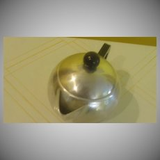 Roly Poly Round Mirro Tea Pot - b136
